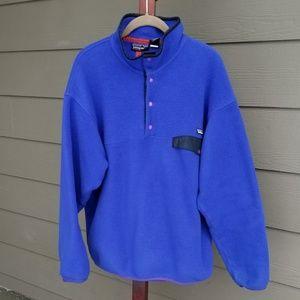 Patagonia Synchilla Marsupial Pullover Sweater